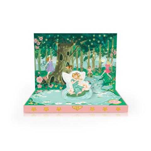 Fairyland Music Box Greeting Card