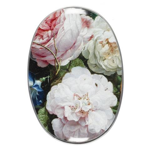 Floral Still Life De Heem Soap Tin