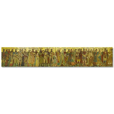 Processional Frieze Panoramic Print