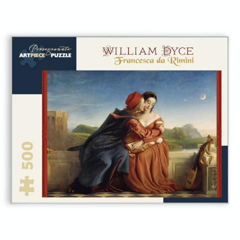 Francesca da Rimini by William Dyce jigsaw puzzle (500 pieces)