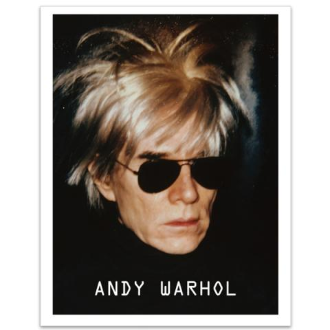 Self-Portrait with fright wig (1986) by Andy Warhol art print