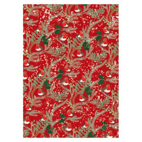 Robins Gift Wrap Sheet