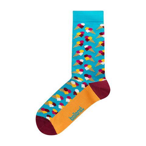 Gelato unisex cotton socks (size 7.5-11.5)