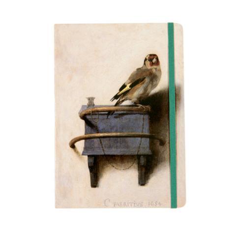 The Goldfinch Carel Fabritius A5 Notebook