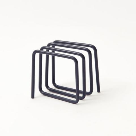 Grey loop letter rack