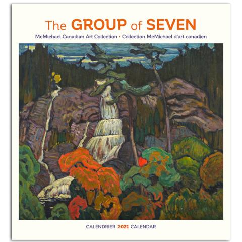 Canadian wilderness landscapes by Group of Seven 2021 wall calendar