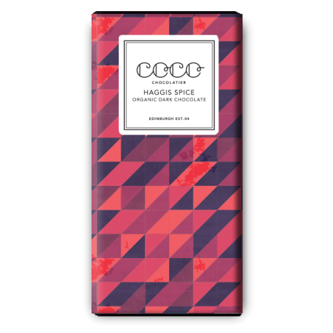 Coco Chocolatier Haggis Spice Dark Chocolate