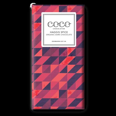 Coco Chocolatier Haggis Spice Dark Chocolate