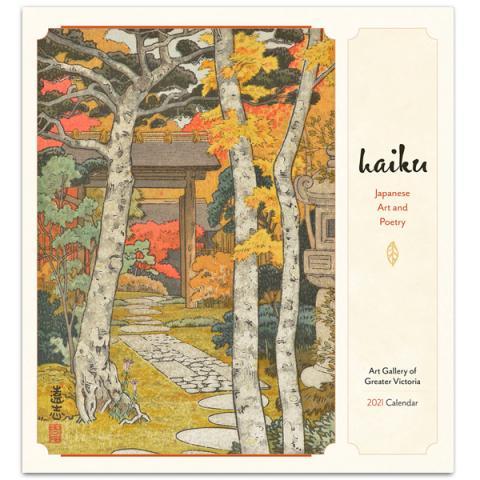 Haiku: Japanese art and poetry 2021 wall calendar