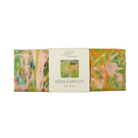 Hedgerow with Grasses and Flowers Joan Eardley Tea Towel