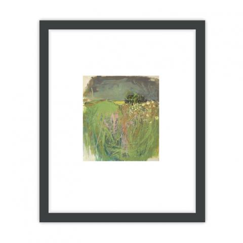 Hedgerow with Grasses and Flowers by Joan Eardley ready to hang framed print