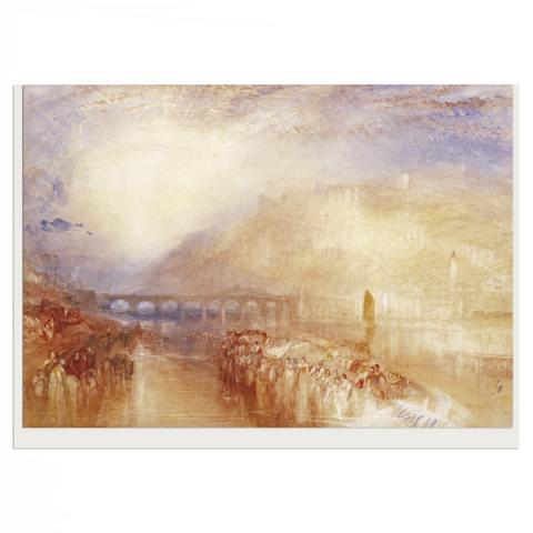 Heidelberg by JMW Turner greeting card