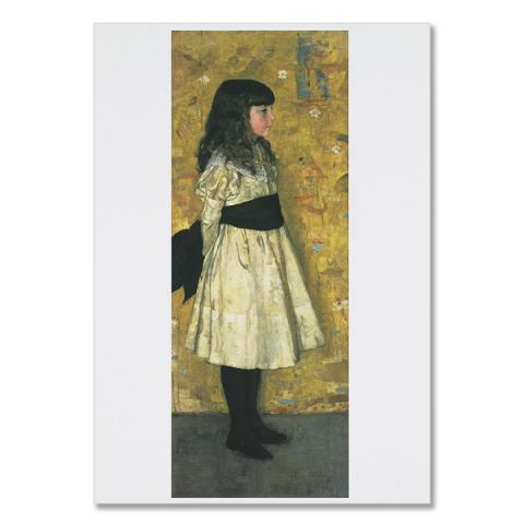 Helen Sowerby by Sir James Guthrie greeting card