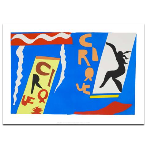 The Circus by Henri Matisse poster print