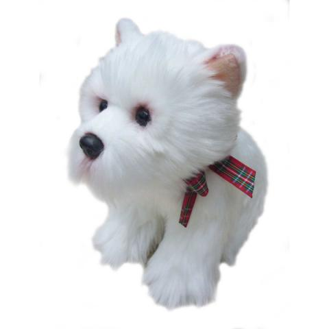 West Highland terrier medium soft toy