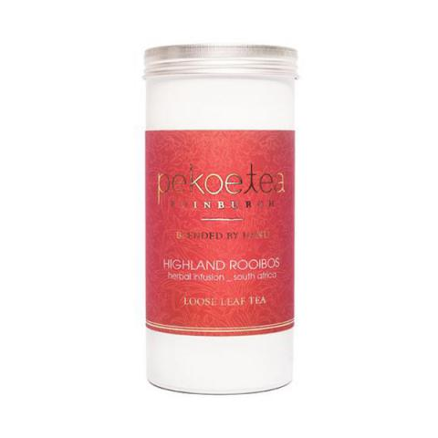 Highland rooibos tea caddy