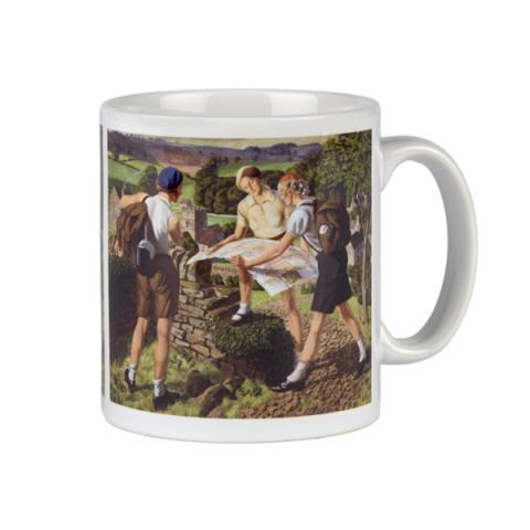Hiking James Walker Tucker Mug