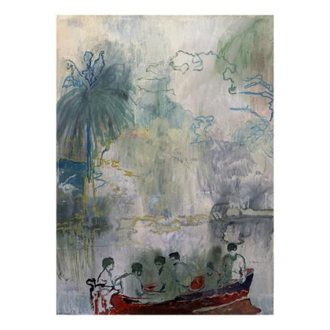 Imaginary Boys by Peter Doig limited edition print (edition number 130)