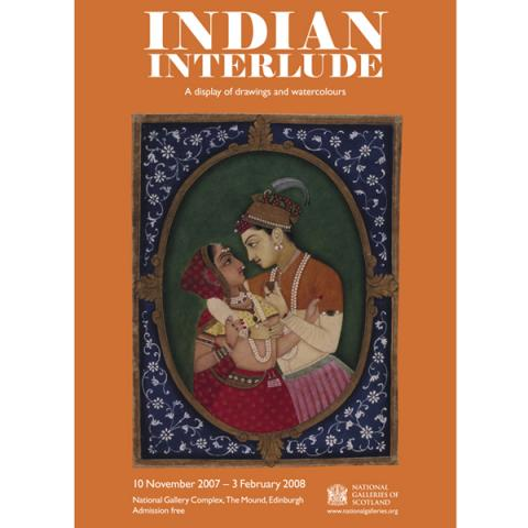Indian Interlude Exhibition Poster