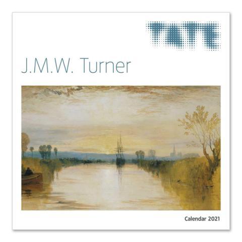 J.M.W. Turner 2021 wall calendar