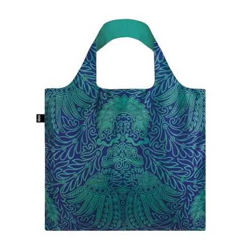 Japanese décor pattern reusable water-resistant carrier bag