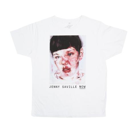 Jenny Saville Red Stare Head IV T-Shirt Small