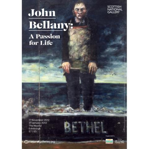 John Bellany A Passion for Life Exhibition Poster
