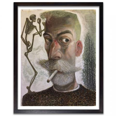 'Knocking on Heaven's Door' by John Byrne framed limited edition print  (edition number 2)
