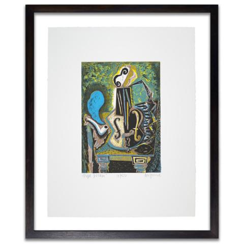 Pipe Dream John Byrne Limited Edition Screenprint