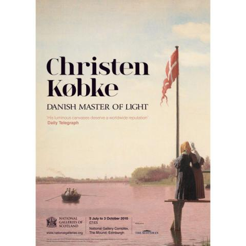 Christen Købke Exhibition Poster