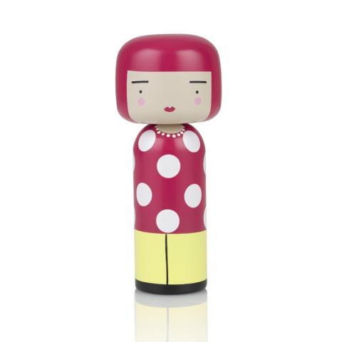 Yayoi Kusama Lucie Kaas Wooden Kokeshi Doll