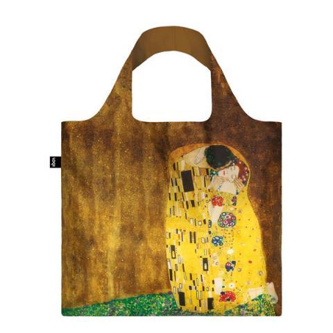 The Kiss Gustav Klimt LOQI Reusable Carrier Bag