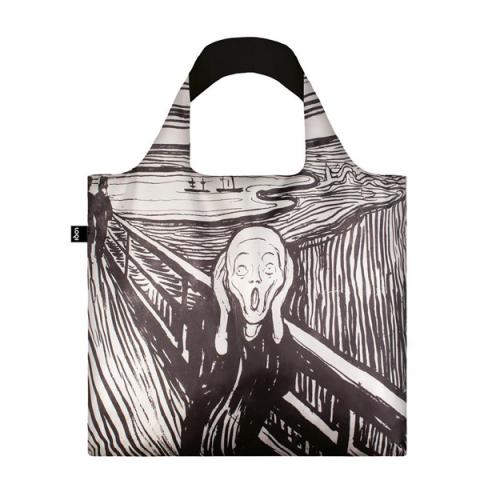 The Scream Edvard Munch LOQI Reusable Carrier Bag