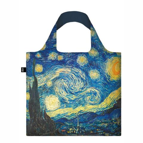 The Starry Night, 1889 Vincent van Gogh LOQI Reusable Carrier Bag
