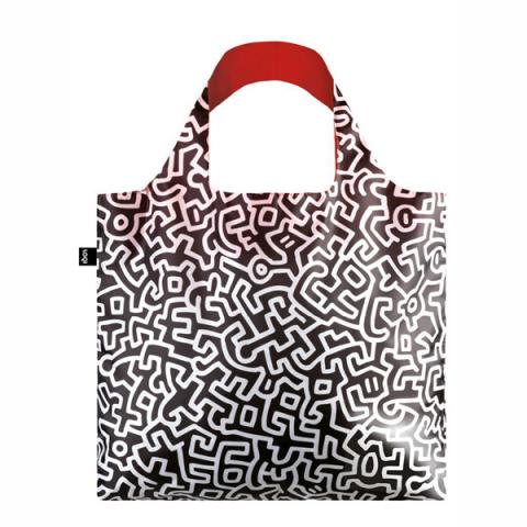 Untitled Keith Haring LOQI Reusable Carrier Bag