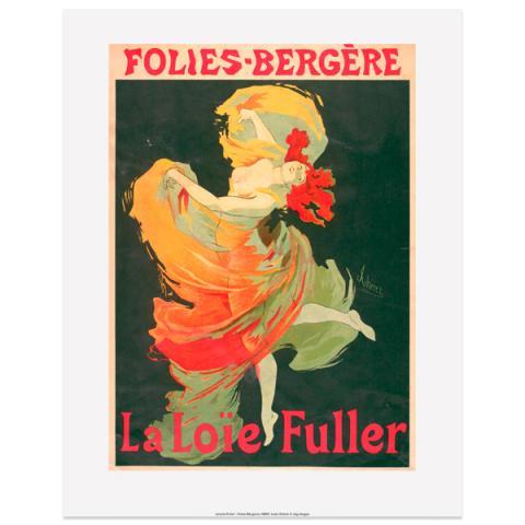La Loie Fuller Jules Chéret Art Print