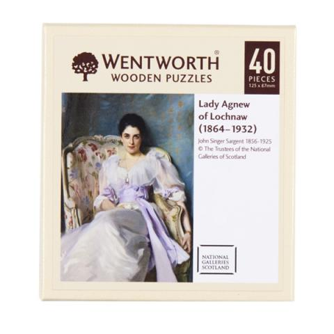 Lady Agnew of Lochnaw John Singer Sargent (40 pieces) Wooden Jigsaw Puzzle