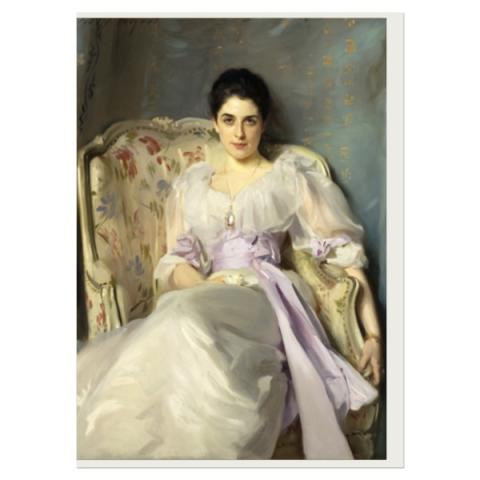 Lady Agnew of Lochnaw by John Singer Sargent greeting card