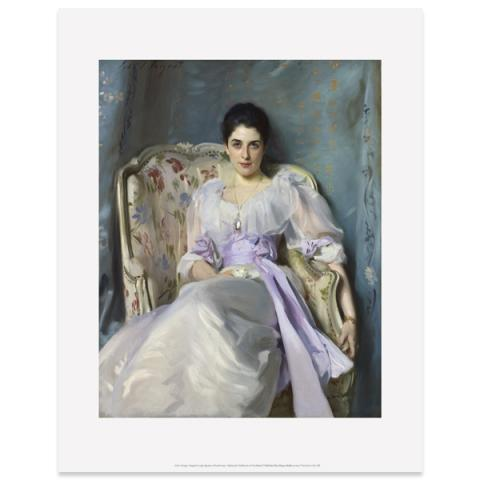 Lady Agnew of Lochnaw by John Singer Sargent art print