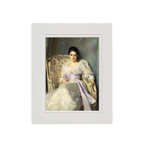 Lady Agnew of Lochnaw by John Singer Sargent mounted art print