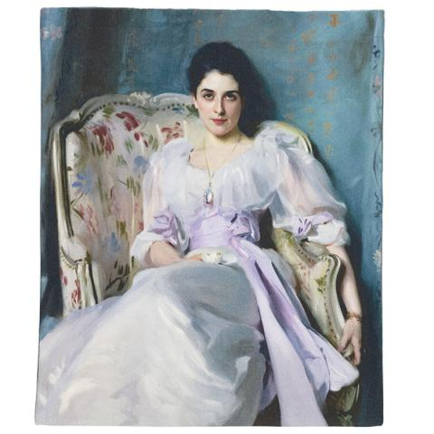 Lady Agnew of Lochnaw by John Singer Sargent tea towel