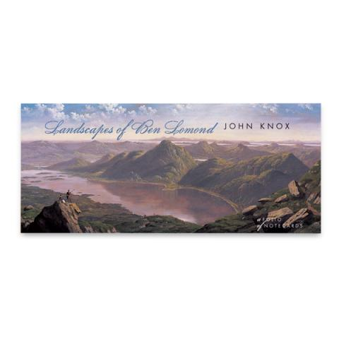 Landscapes of Ben Lomond John Knox notecard wallet (10 cards)