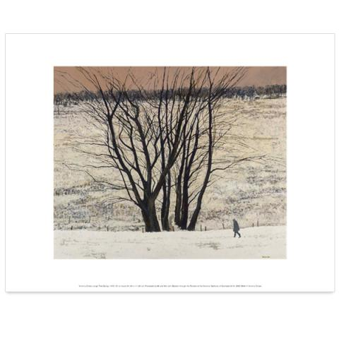 Large Tree Group Victoria Crowe Art Print