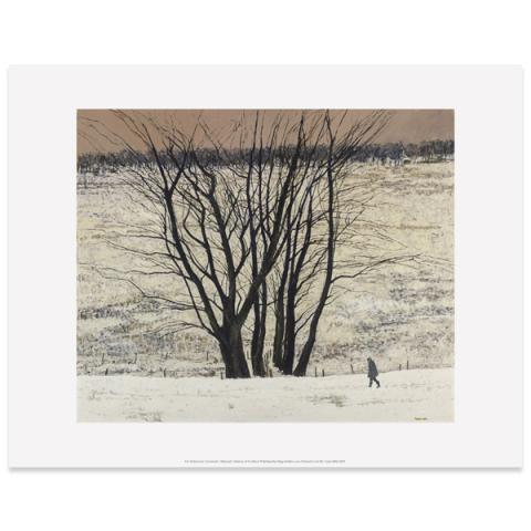 Large Tree Group by Victoria Crowe art print