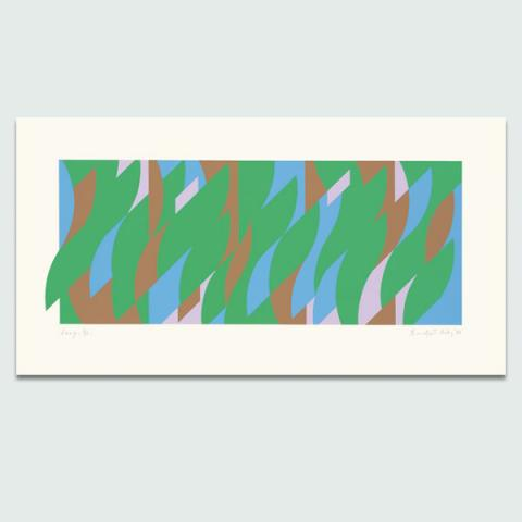 Leap, 2008 by Bridget Riley Limited Edition Print
