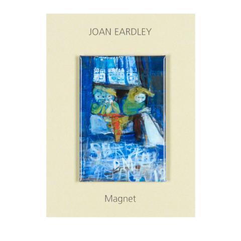 Three Children Tenement Window Joan Eardley Magnet
