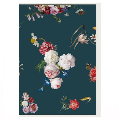 Dutch Floral Still Life Greeting Card