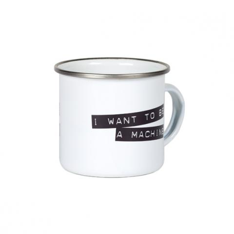 I want to be a machine Andy Warhol Mug