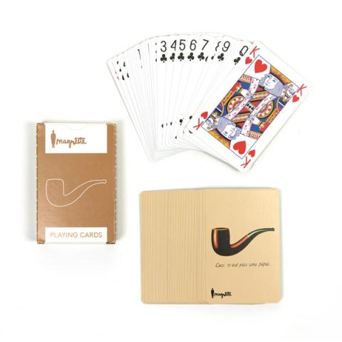 Magritte Playing Cards