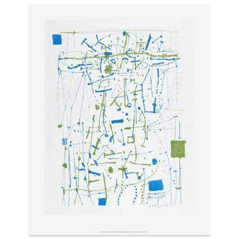 Man's Head Eduardo Paolozzi Art Print